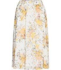 florencesz skirt knälång kjol gul saint tropez