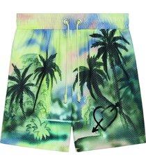 paradise print shorts