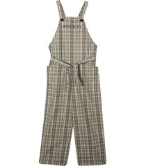 givenchy checked jumpsuit
