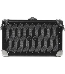 au depart paris nano trunk monogram clutch