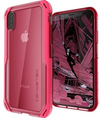 estuche protector ghostek cloak 4 iphone x/xs - rosado
