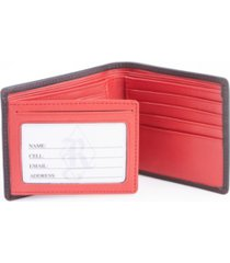 royce new york rfid blocking bifold wallet