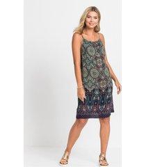jurk met etnoprint
