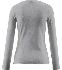shirt met ronde hals, model nasha van bogner grijs
