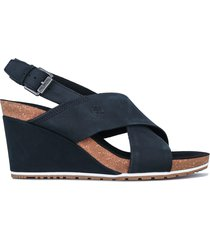 womens capri sunset x-band wedge sandals
