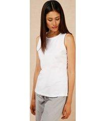 camiseta esqueleto cuello redondo blanco 10