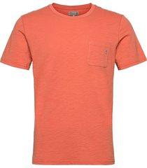 lily tee t-shirts short-sleeved röd morris