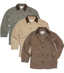 orvis men's corduroy collar cotton barn jacket