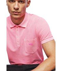 polera t kal 2 polo shirt rosado diesel