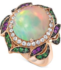 le vian crazy collection multi-gemstone statement ring (5-1/4 ct. t.w.) in 14k rose gold