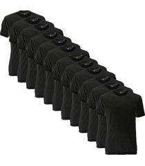 alan red 12-pack virginia t-shirt- zwart
