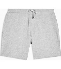 topman grey jersey shorts - grey