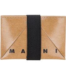 marni origami credit card holder
