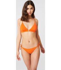 samsoe & samsoe myrara bikini bottom - orange