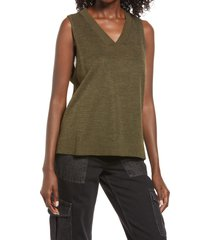 bp. oversize sweater vest, size x-small in grey dark charcoal heather at nordstrom