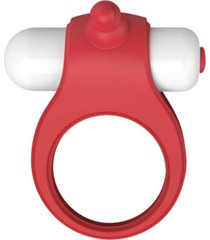 anillo vibrador rati punto g lest - rojo