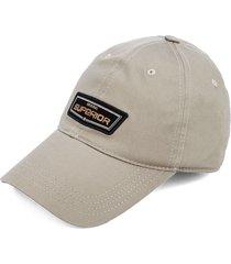 gorra beige-negro colore