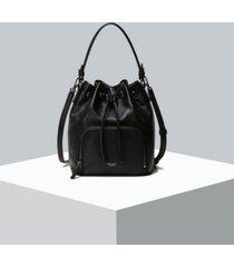 oryany women's boarding leather bucket bag