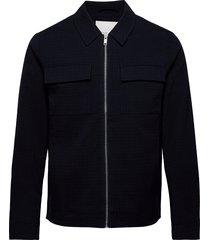 bobby 0009 blazer blazer jacket wit tunn jacka blå casual friday