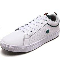 tenis para hombre tellenzi 1685 blanco*verde