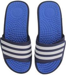 7694aecc5 chinelo adidas adissage tnd - slide - masculino - azul esc/azul