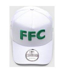 boné new era af sn futebol ffc flu branco/verde