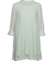 mindy shirt dress kort klänning grön designers, remix