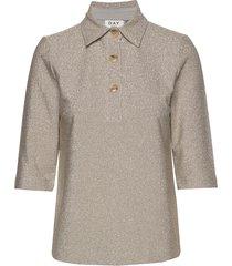 day vista blouses short-sleeved beige day birger et mikkelsen