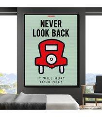 cuadro lienzo tayrona store monopoly - never look back