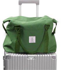 borsa valigia da viaggio in oxford impermeabile