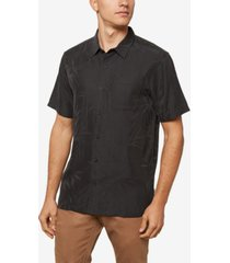 men's bamboo brush print shirt