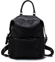 design waterproof nylon backpack women large capacity travel bag school backpack