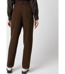 stine goya women's laia trousers - cedar - s