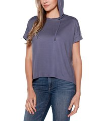 belldini short sleeve hoodie t-shirt