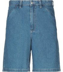 acne studios denim bermudas