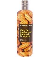 óleo corporal hidramais - amêndoas e colágeno 120ml