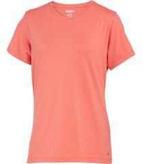 wolverine women's lena short sleeve tee coral, size s