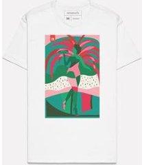 camiseta estampada passista mangueira reserva - masculino