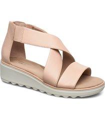 jillian rise platta sandaler rosa clarks