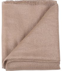 granola cashmere silk and lurex scarf