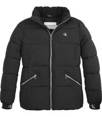 stretch puffer jacket