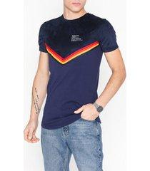 sixth june x color bands t-shirt t-shirts & linnen navy