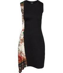 vest thaiyu dresses bodycon dresses zwart desigual