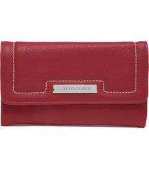 billetera rojo loucos & santo