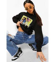 gelicenseerde tlc hoodie, black