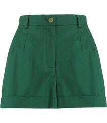 dolce & gabbana high-waist shorts