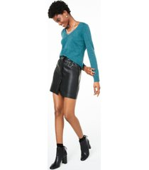 charter club petite v-neck cashmere sweater, created for macy's