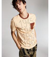 ouigi theodore for sun + stone men's cotton graphic pocket t-shirt