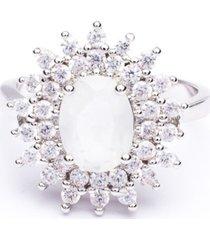 anel boca santa semijoias princesa keyt ouro branco