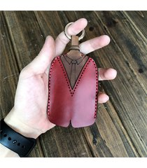 vera pelle set di chiavi casual casual per abbigliamento creativo borsa per uomo
